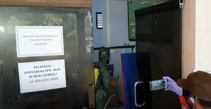 ASN Positif Covid-19 Meninggal, Kantor Dispendukcapil Pasuruan Ditutup