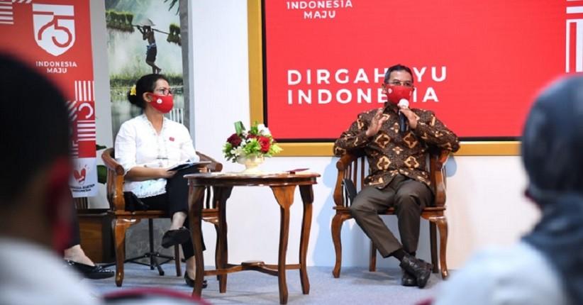 Kemenparekraf Ajak Masyarakat Rayakan HUT RI dengan Lomba Video Cinta Indonesia