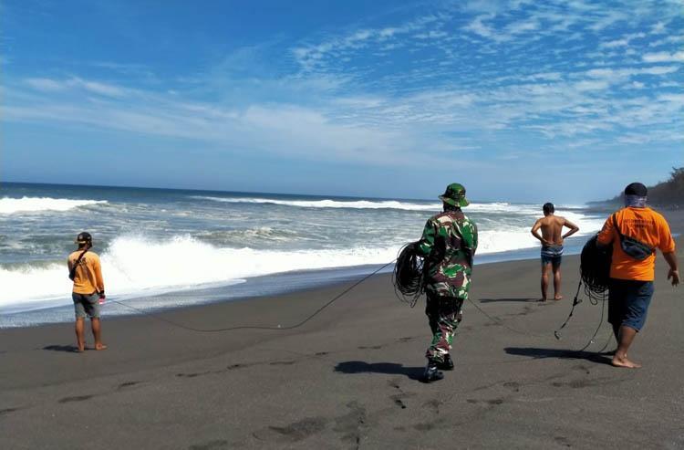 Pencarian 5 Korban Tenggelam Pantai Goa Cemara Dilanjutkan, Basarnas Turunkan 7 SRU