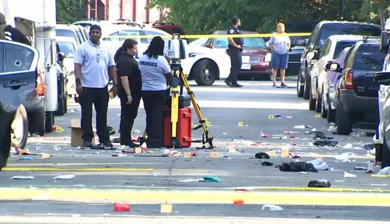Baku Tembak di Acara Pesta Washington DC, 1 Tewas dan 20 Luka