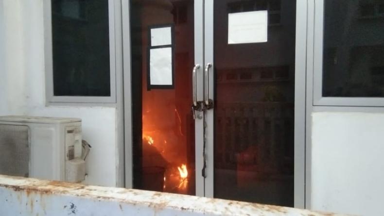 Ruangan Keuangan di Kantor Bupati Labuhanbatu Terbakar, Sejumlah Dokumen Hangus