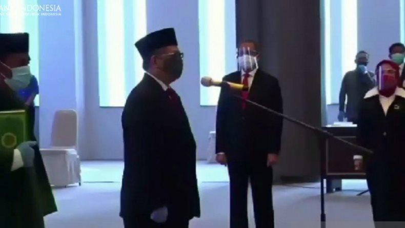 Dilantik MA, Doni Joewono Sah Jadi Deputi Gubernur Bank Indonesia