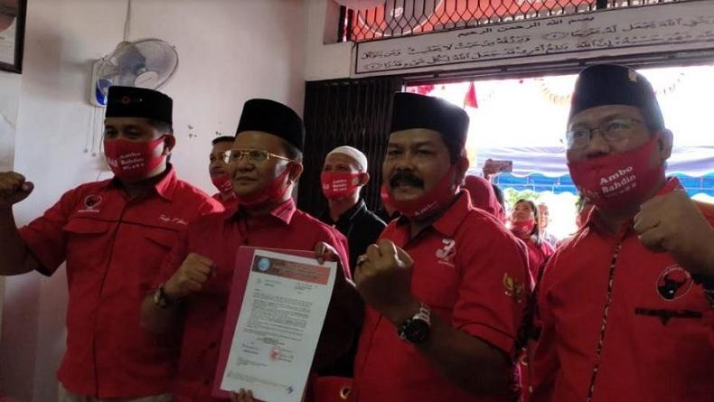 PDIP Usung Mantan Rektor UMSU Bahdin Nur Tanjung di Pilkada Sibolga