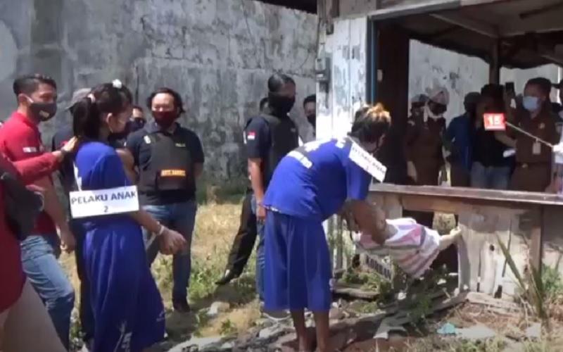 Kekasih Dalang Pembunuhan Sadis di Pekalongan Sempat Swafoto Sebelum Eksekusi Korban