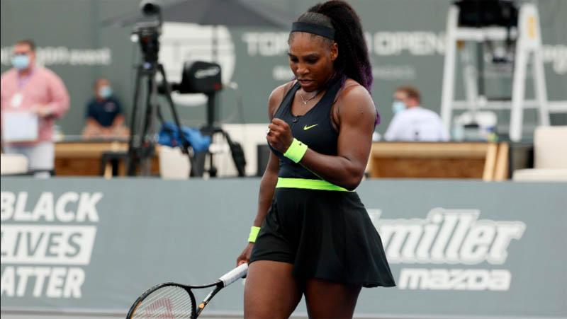 Bertanding Tanpa Pendukung, Serena Williams Justru Senang