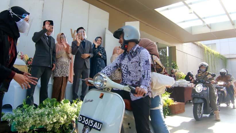 Warga Bandarlampung Segera Diizinkan Gelar Pesta Pernikahan