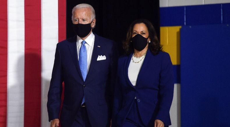 Joe Biden dan Kamala Harris Memulai Kampanye Pilpres AS