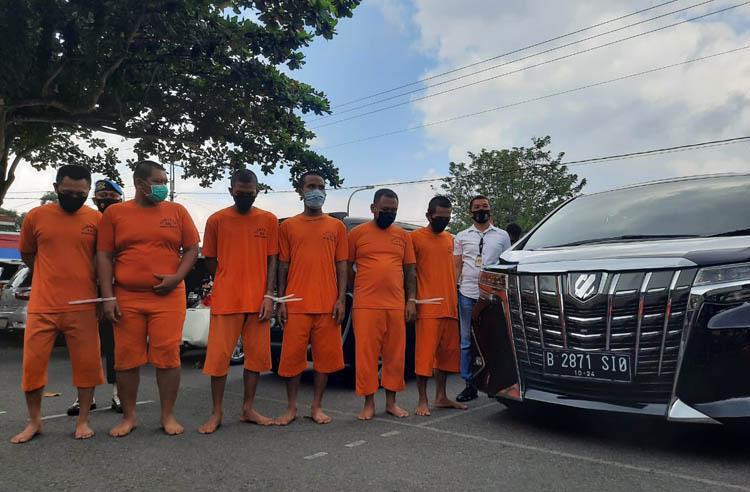 Komplotan Pencuri Mobil Mewah di Sleman Ditangkap, Korban Dicekoki Kopi Campur Kecubung