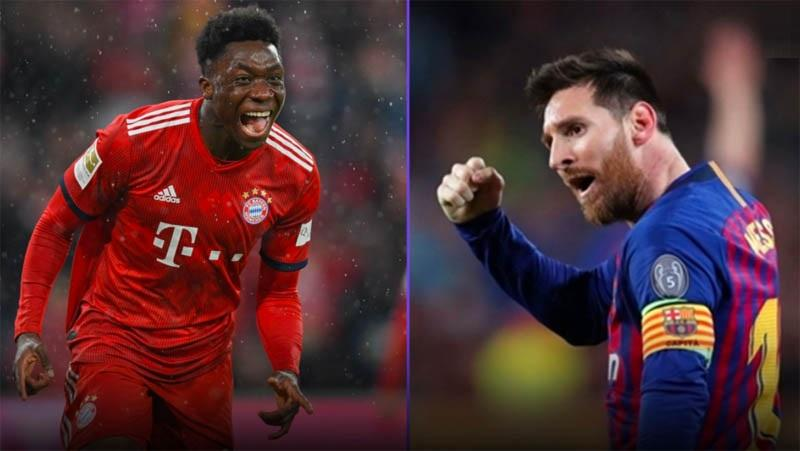 Barcelona Vs Bayern, Alphonso Davies Girang Disuruh Jaga Lionel Messi