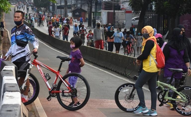 32 Kawasan Khusus Pesepeda di Jakarta Efektif Ditiadakan Minggu, 16 Agustus