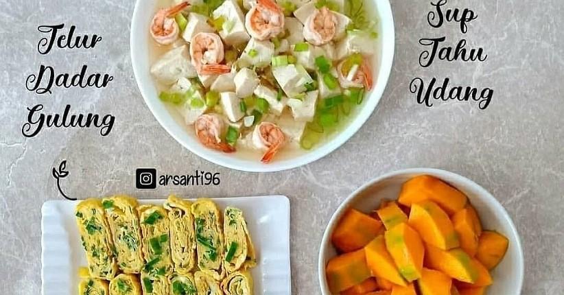 Rekomendasi Masakan Simpel untuk Weekend, Lezat Ada Sup Tahu dan Nugget