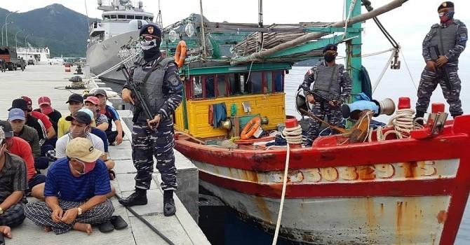 TNI Diintimidasi Coast Guard Vietnam saat Tangkap 2 Kapal Asing di Laut Natuna