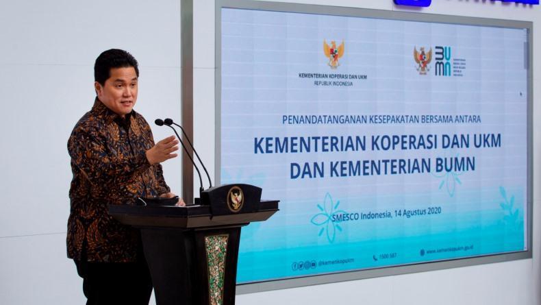 Erick Thohir Targetkan IBH Bisa Produksi Baterai Mobil Listrik pada 2022