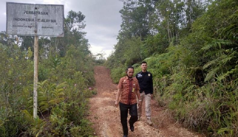 Terobos Perbatasan di Bengkayang, Warga Malaysia Ditahan Satgas Pamtas