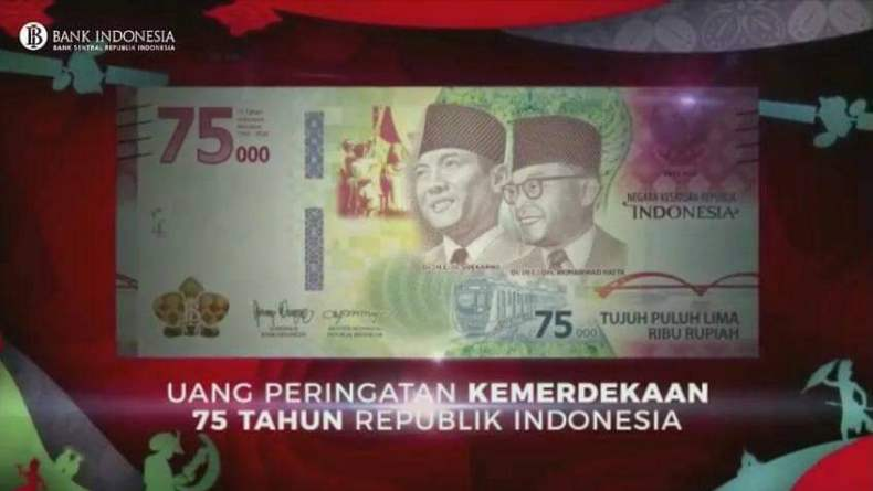 BI Buka Penukaran Uang Baru Rp75.000 Secara Kolektif