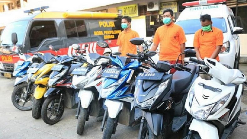 Polisi Tangkap 2 Pencuri Spesialis Motor di Jayapura, Mereka Beraksi di Siang Hari