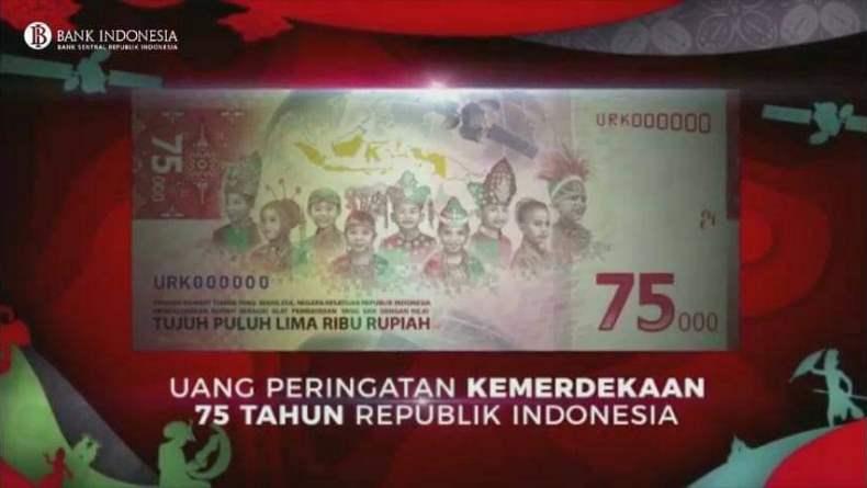 BI Targetkan Penukaran Uang Peringatan Rp75.000 Capai 30.000 Lembar per Hari