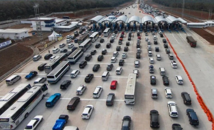 162.938 Kendaraan Tinggalkan Jakarta saat Libur Panjang