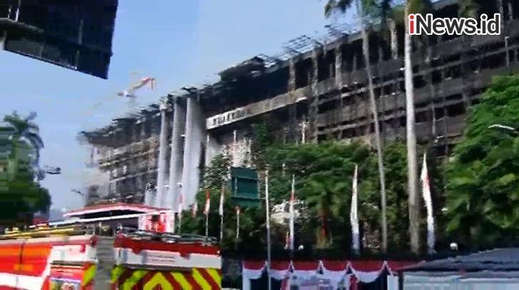 Kebakaran Gedung Kejagung Dipastikan karena Kealpaan, Penetapan Tersangka Jumat