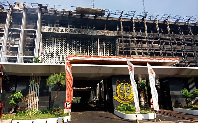 Penyidikan Kasus Kebakaran, Bareskrim Periksa Sidik Jari di Lift Gedung Kejagung