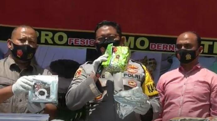 Polisi Gagalkan Penyelundupan 28 Kg Sabu di Bakauheni, 5 Orang Ditangkap
