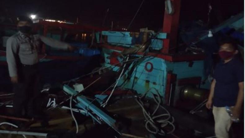 2 Kapal Tabrakan di Perairan Sibolga, Nakhoda Tewas dan 6 ABK Luka-Luka