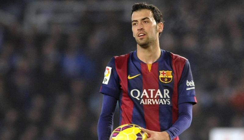 Benturan dengan Pemain Atletico Madrid, Rahang Sergio Busquets Retak