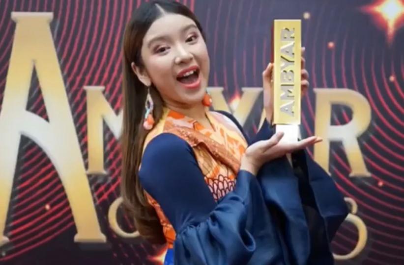 Tiara Andini Menang di Ambyar Awards 2020: Piala Ini untuk Pakde Didi Kempot