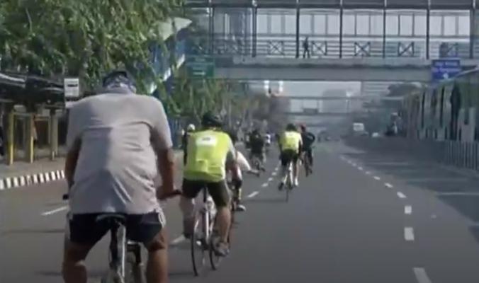 Jakarta Buka Kembali 10 Kawasan Khusus Pesepeda Hari Ini