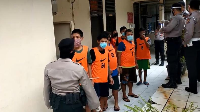 Sempat Reaktif Covid 19 27 Tahanan Di Sel Kejaksaan Padang Dipindah Ke Rutan Bagian 1