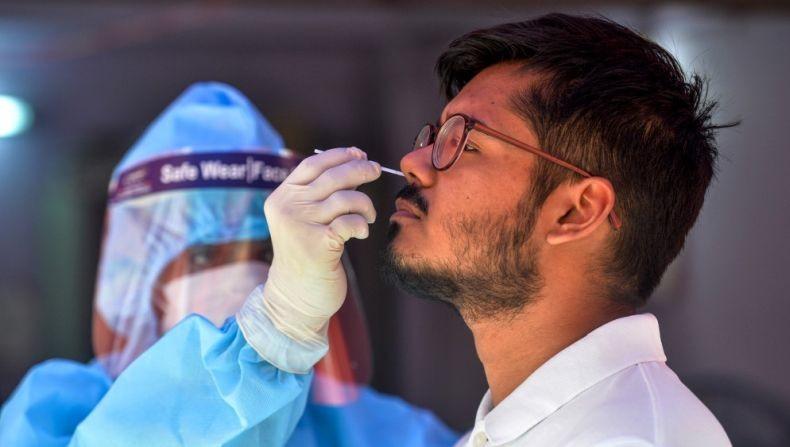 Ngeri, 1 Juta Penduduk India Terinfeksi Covid-19 Hanya dalam 11 Hari