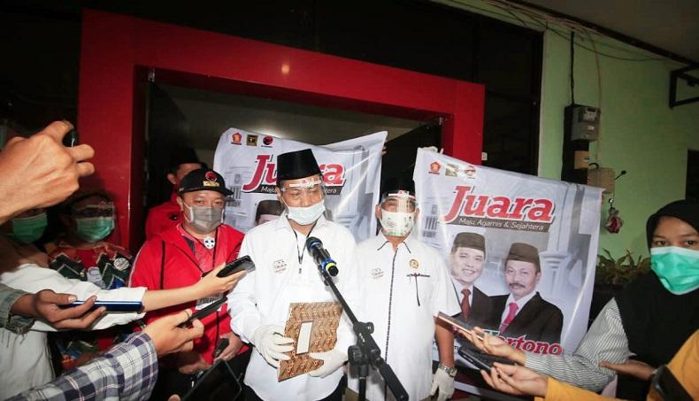 Tak Hadir Daftar di KPU, Calon Wali Kota Banjarbaru Positif Covid-19