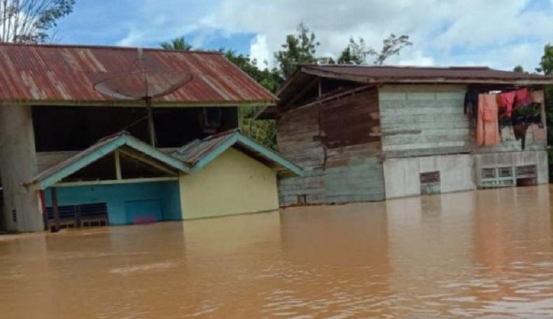 BNPB: Luapan 5 Sungai Penyebab Banjir di Landak Kalbar
