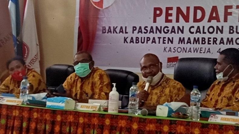 Duh, Seorang Anggota KPU Papua Positif Covid-19