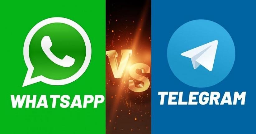 WhatsApp Versus Telegram, Lebih Baik Mana?