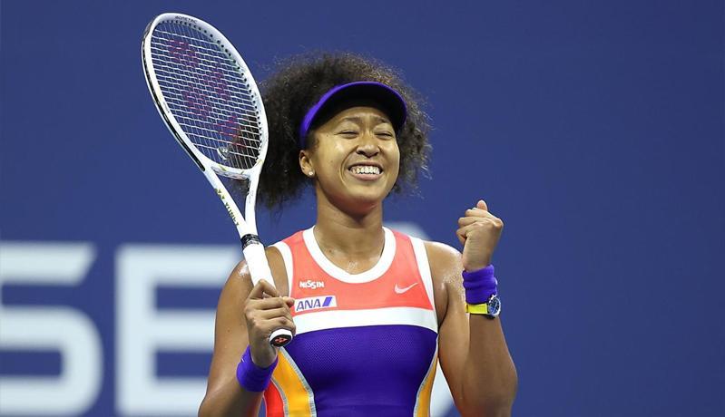 Naomi Osaka Susah Payah Amankan Tiket Final US Open 2020