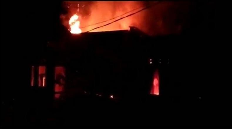 Pria di Banjar Bakar Rumah Pacarnya akibat Pertengkaran
