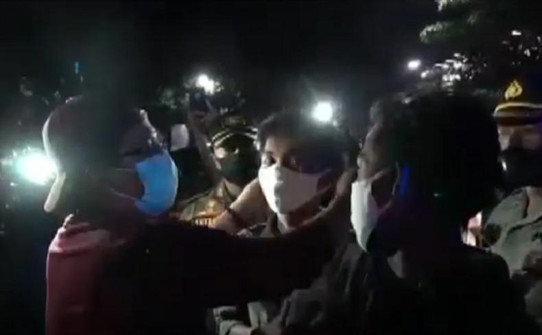 Gencarkan Sidak, Bupati Badung Giri Prasta Turun Langsung Razia Masker di Kuta
