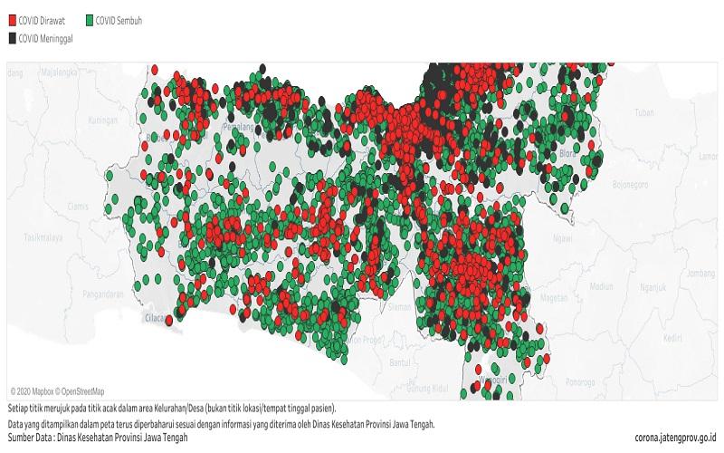 Kasus Positif Covid di Jateng Tambah 513 Orang, Terbanyak ke-3 Nasional Pada 22 Oktober