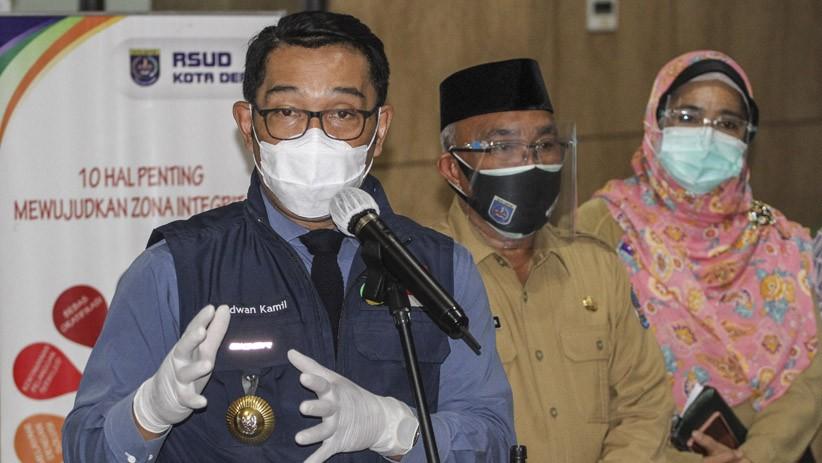 Kasus Covid-19 Masih Tinggi, Ridwan Kamil Seragamkan Penanganan Bodebek