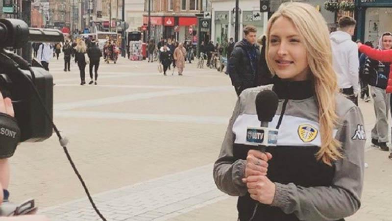 6 Fakta Emma Louise Jones, Presenter Bahenol Leeds United TV