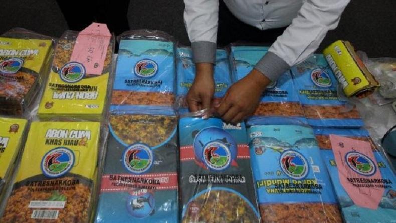 Polisi Tembak 4 Pengedar Narkoba di Surabaya, Sita Sabu 28,8 Kg dan 14.700 Ekstasi