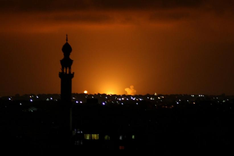 Dihantam Roket saat Berdamai dengan UEA dan Bahrain, Israel Balas Bombardir Gaza