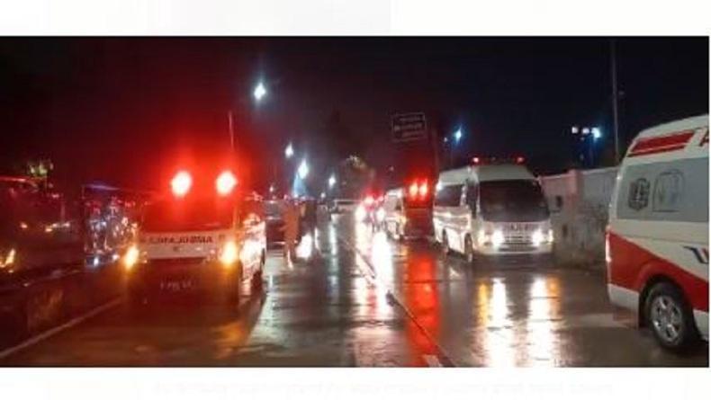 Viral Antrean Ambulans di Wisma Atlet, Pengelola: Ada 352 Pasien Isolasi Mandiri