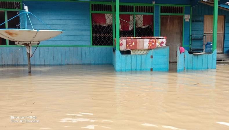 1.118 Rumah di Kotim Direndam Banjir, Warga Diingatkan Waspadai Bencana Susulan