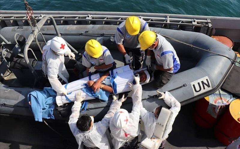 KRI Sultan Hasanuddin Selamatkan Imigran Lebanon di Tengah Laut Mediterania