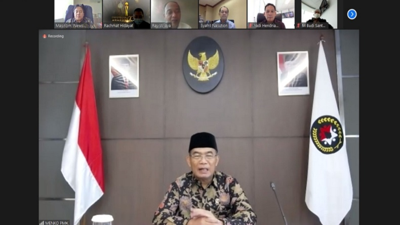 iNews Gelar Indonesia Awards 2020, Menko PMK Muhadjir Effendy Jadi Juri
