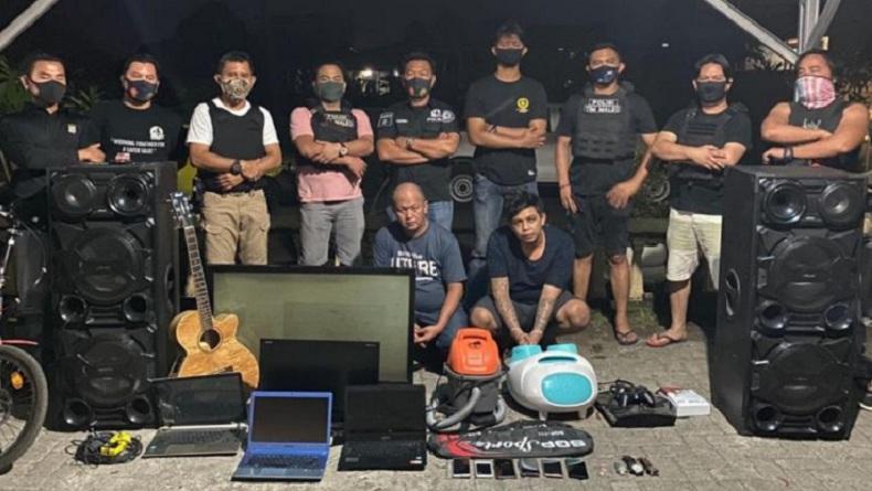 Maleo Polda Sulut Kejar Pelaku Pencurian di Gereja sampai ke Makassar