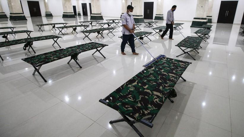 Masjid KH Hasyim Asy'ari Jakarta Dijadikan Tempat Isolasi Warga Positif Covid-19