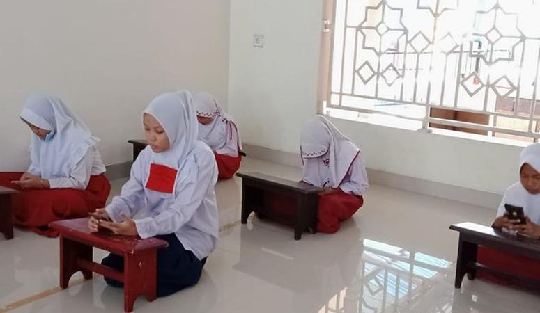 Dukung Belajar Daring, Masjid Darul Huda di Padang Dipasang Wifi Gratis